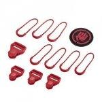 Coocazoo Zestaw Elementów Wymiennych Classic, Ribbon Red