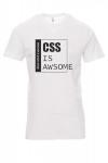 Koszulka biała - css IS AWsome