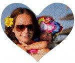 Puzzle serce z ulubionym zdjęciem