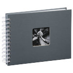 Album 24x17/50 Fine Art Szary czarne strony - Hama