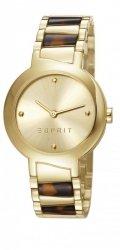 Zegarek Esprit ES- Mona Deco brown Tortoise  gold  i fotoksiążka gratis
