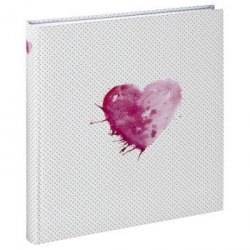 Album Hama tradycyjny do zdjęć Lazise 29x32/50 różowy