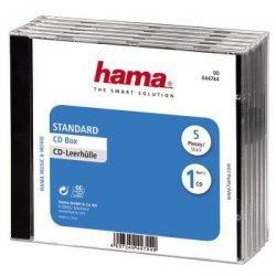 Hama pudełko cd standard 5- pak 447440000