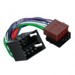 Hama Przewód ISO uniwersalny radio X2 - głośn. +zasil. (0,2m) 457540000