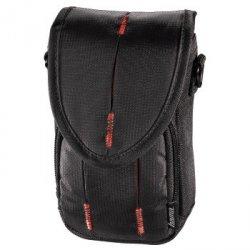 Hama torba canberra 90l czarna/czerwona