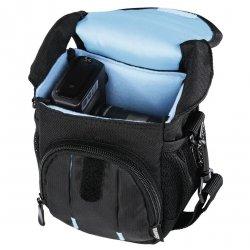 Hama torba canberra 100 czarna/niebieska 1036690000