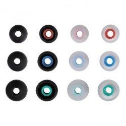 Silikonowe wkładki do słuchawek rozmiary s-l, 12 szt.