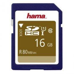 Hama karta pamięci hs gold sdhc 16gb uhs-i 80mb /s c10