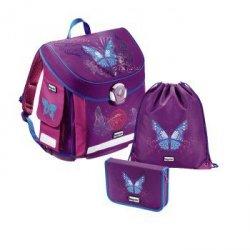 Baggymax CANNY zestaw szkolny 3cz. Butterfly