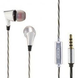 SŁuchawki dokanaŁowe ear3207 srebrne