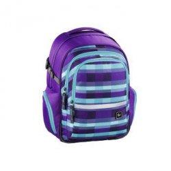 All Out Plecak Szkolny Filby Kolor: Summer Check Purple