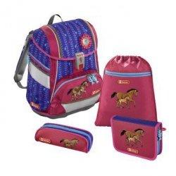 Zestaw szkolny 2w1 4-częciowy Lucky Horses - Step by Step Hama