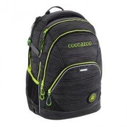 Plecak szkolny EvverClevver 2 Knit Black, System Matchpatch - Coocazoo