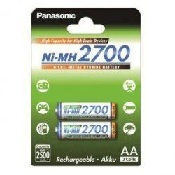 Akumulator Ni-Mh High Capacity, rozmiar AA, min. 2.500 mAh, 2 szt.