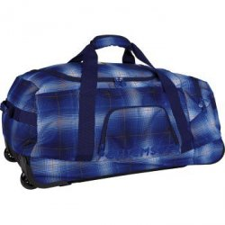 Chiemsee rolling duffle, ba l0551 plaid regatta