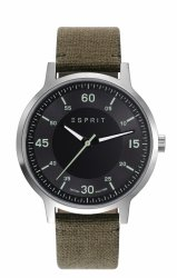 Zegarek ESPRIT-TP10827 CANVAS MILITARY GREEN