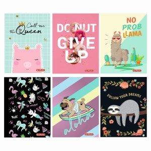 Zeszyt A5 32 kartek w kratkę Humorous for Girls - Herlitz