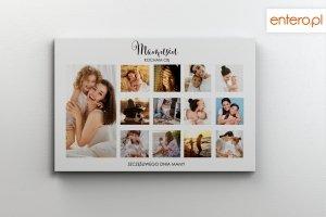Fotoobraz 30x40 Dzień Matki z własnymi zdjęciami - Studioix.pl