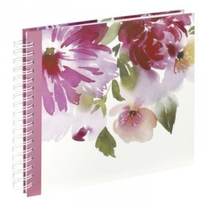 Album 28x24/50 Flower Watercolor spiralny - Hama