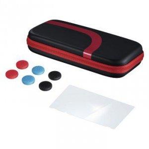 Zestaw torba, szkło ochronne, nakładki do Nintendo Switch czerwone - Hama