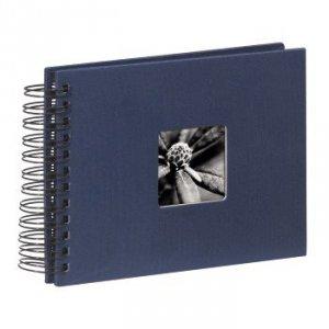 Album 24x17/50 Fine Art niebieski czarne strony - Hama