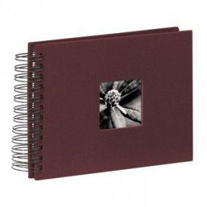 Album 24x17/50 Fine Art bordowy czarne strony - Hama