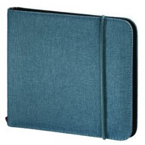 Utf cd/dvd wallet 24,turquoise