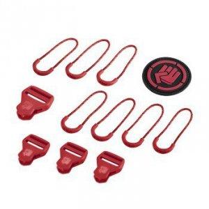 Zestaw Elementów Wymiennych Classic Ribbon Red - Coocazoo