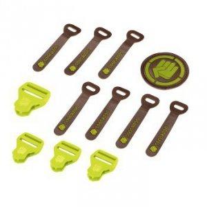 Zestaw Elementów Wymiennych Leather Limepunch Melange - Coocazoo