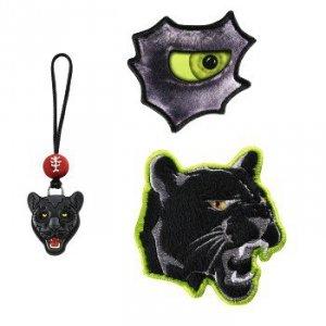 Zestaw elementów wymiennych Magic Mags Wild Cat do tornistra Space - Step by Step Hama