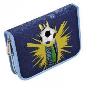 Piórnik szkolny Soccer z wyposażeniem - Hama
