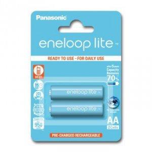 2 akumulatorki panasonic eneloop lite aa r6 950 mah