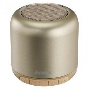 Głośnik Bluetooth Steel Drum złoty - Hama