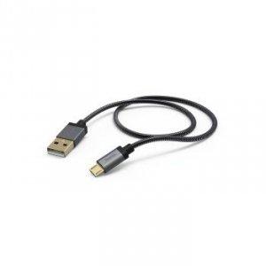 Kabel ładujący/Data Metal Micro USB 1.5m - Hama