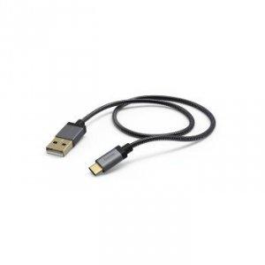Kabel do ładowania i synchronizacji USB Typ-C 1,5 m antracytowy- Hama