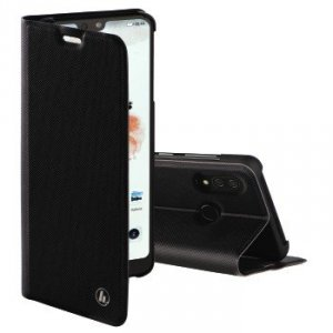 Etui do Huawei P20 Lite Slim Pro Booklet czarne - Hama
