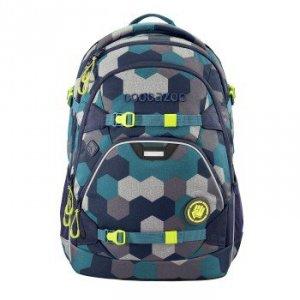 Plecak szkolny Scalerale Blue Geometric Melange - Coocazoo