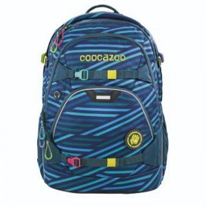 Plecak szkolny Scalerale Zebra Stripe Blue - Coocazoo