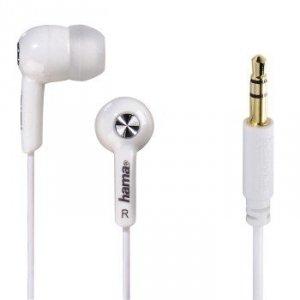 Słuchawki douszne Basic4music białe - Hama