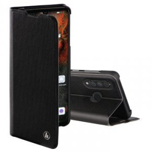 Etui do Huawei P30 Lite Slim Pro Booklet czarne - Hama