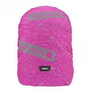 Pokrowiec na plecak różowy refleks - Coocazoo