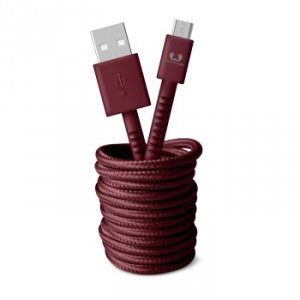 Kabel Micro USB 3.0m Ruby Red - Fresh'n Rebel