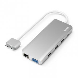 Multiport USV-C do Apple MacBook Air & Pro 12 portów - Hama