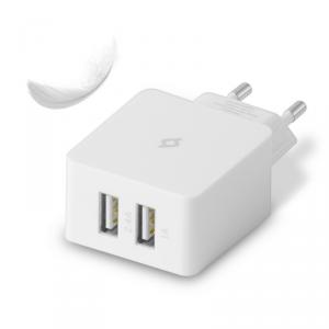 TTEC USB Quantum Duo Ładowarka sieciowa lightning MFI 3.4A (2SCM02)