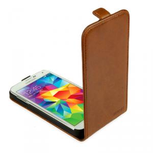 SKINK Flap Etui Samsung Galaxy A3 brązowe