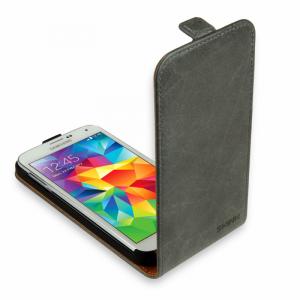SKINK Flap Etui Samsung Galaxy A3 szare