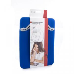 Uniwersalne etui typu wsuwka na tablet 10 - niebieski