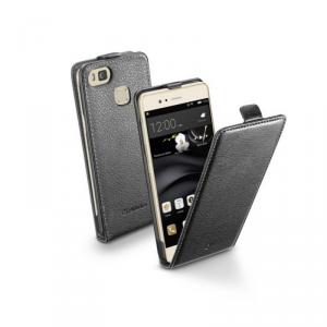 Etui FLAP ESSENTIAL do Huawei P9 Lite, czarne, eko-skóra