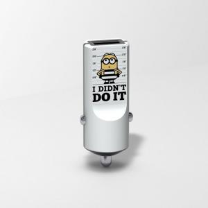 TRIBE Minionki Ładowarka samochodowa Buddy 1 USB Jail
