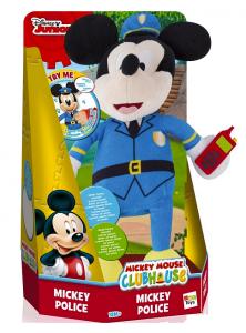 Disney, interaktywna Myszka Mickey, policjant, zabawka interaktywna + gratis